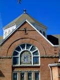 Χριστιανική εκκλησία πόλεων Capitol Στοκ φωτογραφία με δικαίωμα ελεύθερης χρήσης
