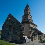 Χριστιανική εκκλησία & x28 Densus  Άγιος Βασίλης & x27  Εκκλησία & x29 , Hunedoara, Ρουμανία Στοκ εικόνα με δικαίωμα ελεύθερης χρήσης