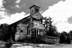 Χριστιανική εκκλησία Picher Οκλαχόμα περιοχών Superfund κολπίσκου πίσσας στοκ εικόνες με δικαίωμα ελεύθερης χρήσης