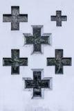 χριστιανικοί σταυροί Στοκ φωτογραφίες με δικαίωμα ελεύθερης χρήσης