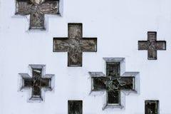 χριστιανικοί σταυροί Στοκ φωτογραφία με δικαίωμα ελεύθερης χρήσης