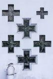 χριστιανικοί σταυροί Στοκ εικόνες με δικαίωμα ελεύθερης χρήσης