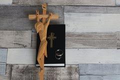 χριστιανικός γάμος Στοκ φωτογραφία με δικαίωμα ελεύθερης χρήσης