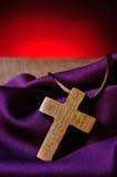 χριστιανικός διαγώνιος ξύ& Στοκ Εικόνες
