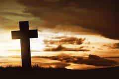 χριστιανικός διαγώνιος ξύ& Στοκ φωτογραφία με δικαίωμα ελεύθερης χρήσης