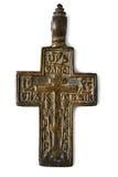 Χριστιανικός διαγώνιος παλαιός Στοκ φωτογραφίες με δικαίωμα ελεύθερης χρήσης