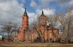 Χριστιανικός ναός Στοκ φωτογραφία με δικαίωμα ελεύθερης χρήσης