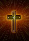 χριστιανικός σταυρός Στοκ εικόνες με δικαίωμα ελεύθερης χρήσης