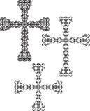 Χριστιανικό διαγώνιο σχέδιο Στοκ Φωτογραφία