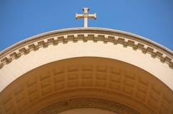 χριστιανικό τεμάχιο αρχιτ&e Στοκ Εικόνα