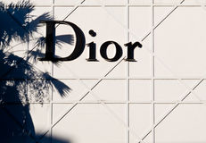 χριστιανικό dior Στοκ εικόνες με δικαίωμα ελεύθερης χρήσης