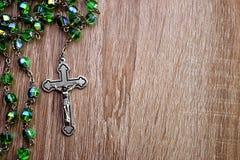 χριστιανικό rosary Στοκ Εικόνες