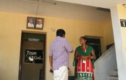 Χριστιανοί στην Ινδία στοκ φωτογραφία με δικαίωμα ελεύθερης χρήσης