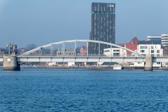 Χριστιανός Χ Kong Γέφυρα Bro σε Sonderborg στοκ φωτογραφία με δικαίωμα ελεύθερης χρήσης