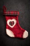 Χριστουγέννων δώρων διανυσματικό λευκό καλτσών απεικόνισης κόκκινο Στοκ εικόνα με δικαίωμα ελεύθερης χρήσης