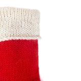 Χριστουγέννων δώρων διανυσματικό λευκό καλτσών απεικόνισης κόκκινο Στοκ φωτογραφίες με δικαίωμα ελεύθερης χρήσης