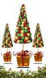 Χριστουγεννιάτικα δέντρα Στοκ Εικόνα