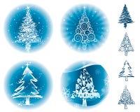 χριστουγεννιάτικα δέντρ&alph Στοκ φωτογραφίες με δικαίωμα ελεύθερης χρήσης