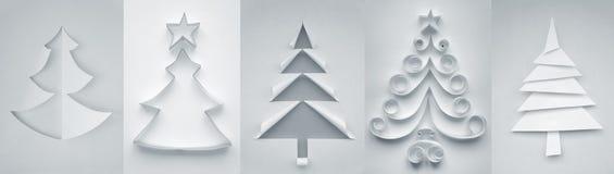 Χριστουγεννιάτικα δέντρα Στοκ Εικόνες