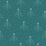 Χριστουγεννιάτικα δέντρα Στοκ εικόνες με δικαίωμα ελεύθερης χρήσης