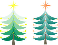 χριστουγεννιάτικα δέντρα ελεύθερη απεικόνιση δικαιώματος