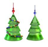 χριστουγεννιάτικα δέντρα Απεικόνιση αποθεμάτων
