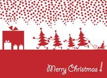 χριστουγεννιάτικα δέντρ&alph ελεύθερη απεικόνιση δικαιώματος