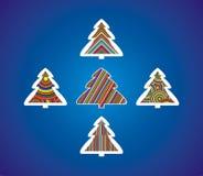χριστουγεννιάτικα δέντρ&alph στοκ εικόνα με δικαίωμα ελεύθερης χρήσης