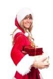 χριστουγεννιάτικα δώρα μ&e Στοκ Φωτογραφίες