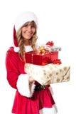 χριστουγεννιάτικα δώρα μ&e Στοκ εικόνα με δικαίωμα ελεύθερης χρήσης