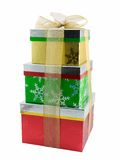 χριστουγεννιάτικα δώρα Στοκ Φωτογραφία