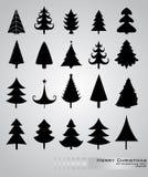 χριστουγεννιάτικα δέντρ&alph Στοκ Εικόνα