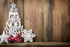 Χριστουγεννιάτικο δέντρο, επιθυμία Noel, ερυθρελάτες των επιστολών στοκ φωτογραφίες
