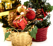 Χριστουγεννιάτικο δέντρο διακοσμήσεων Στοκ φωτογραφίες με δικαίωμα ελεύθερης χρήσης