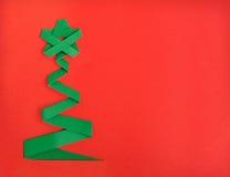 Χριστουγεννιάτικο δέντρο και δώρο Στοκ φωτογραφίες με δικαίωμα ελεύθερης χρήσης