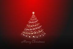 Χριστουγεννιάτικο δέντρο μόνο Στοκ Εικόνες