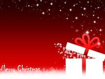 Κόκκινες διακοσμήσεις Χριστουγέννων Απεικόνιση αποθεμάτων