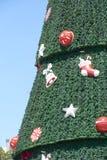 Χριστουγεννιάτικο δέντρο σε Ibirapuera στην πόλη του Σάο Πάολο Στοκ εικόνα με δικαίωμα ελεύθερης χρήσης