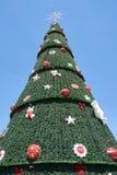 Χριστουγεννιάτικο δέντρο σε Ibirapuera στην πόλη του Σάο Πάολο Στοκ Εικόνα