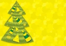 Χριστουγεννιάτικο δέντρο τυριών και κρασιού Στοκ εικόνα με δικαίωμα ελεύθερης χρήσης