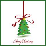 Χριστουγεννιάτικο δέντρο Στοκ Φωτογραφία