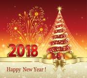 Χριστουγεννιάτικο δέντρο 2018 Στοκ Εικόνες