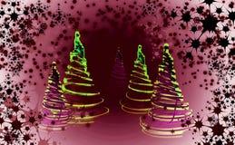 Χριστουγεννιάτικο δέντρο & x28 forest& x29  Στοκ Εικόνες