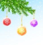 χριστουγεννιάτικο δέντρ&om Στοκ Εικόνες