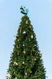Χριστουγεννιάτικο δέντρο αγκυλών Στοκ φωτογραφία με δικαίωμα ελεύθερης χρήσης