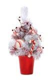 χριστουγεννιάτικο δέντρο καλάμων καραμελών Στοκ φωτογραφίες με δικαίωμα ελεύθερης χρήσης