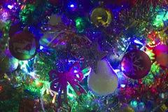 Χριστουγεννιάτικο δέντρο με τα αστέρια, Στοκ εικόνα με δικαίωμα ελεύθερης χρήσης