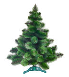 Χριστουγεννιάτικο δέντρο που απομονώνεται Στοκ εικόνα με δικαίωμα ελεύθερης χρήσης