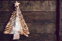 Χριστουγεννιάτικο δέντρο σοκολάτας Στοκ Εικόνα