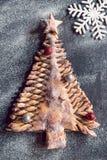Χριστουγεννιάτικο δέντρο σοκολάτας Στοκ Εικόνες